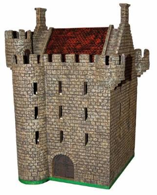 castle miniatures 28mm: tower house